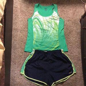 Sport running outfit